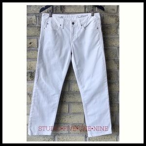 GAP Real Straight Jeans in Optic White